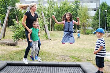 Gelebte Inklusion: In der Kita Anna Haag werden Kinder mit und ohne Behinderung gemeinsam betreut