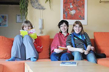Im Internat wohnen Jugendliche, die eine Bildungsmaßnahme im Anna-Haag-Haus absolvieren.