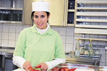 In der BvB lernen die Jugendlichen unterschiedliche Arbeitsfelder und Ausbildungsberufe kennen.