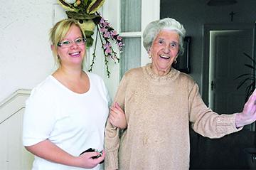 Anna Haag Mobil bietet Pflege zu Hause.