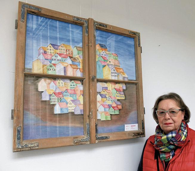 Zur Ausstellung von Inge Malas: »Durchs Fenster geschaut«