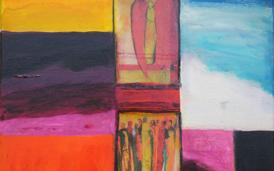 Ausstellung von Gertrud Weber