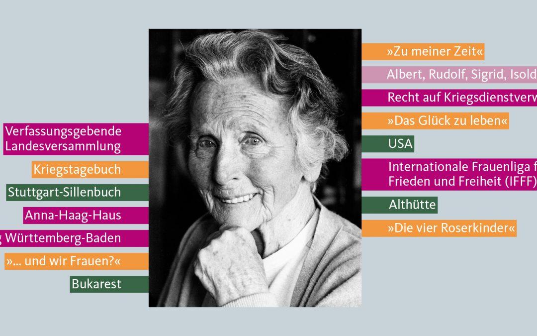 Anna Haag ─ Leben und Wirken