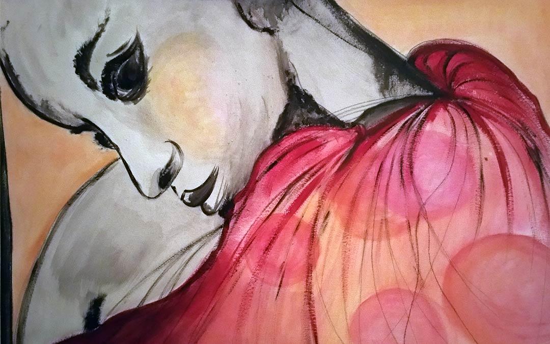 Bilderausstellung von Brigitte Ludwig