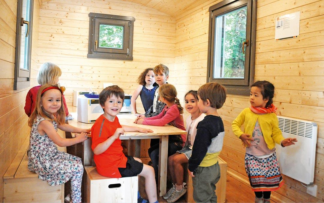 Abenteuerwagen der Kindervilla Anna Haag