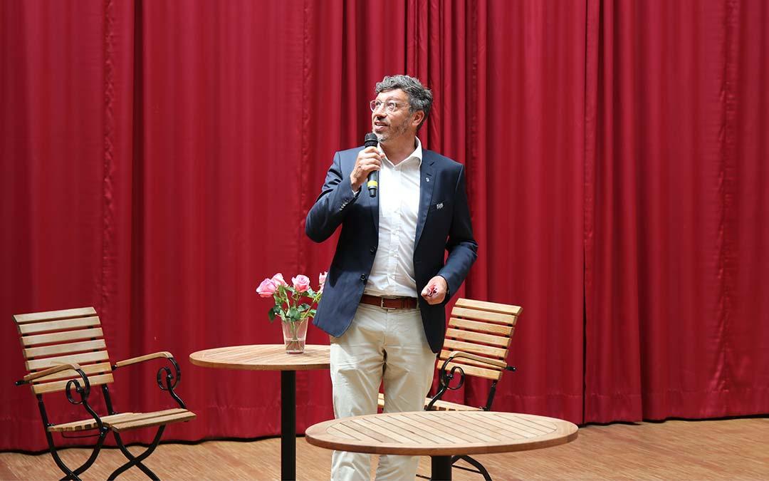 VfB-Präsident zu Besuch im Anna-Haag-Haus